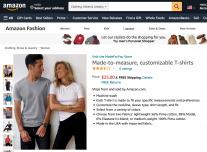 """让你的""""虚拟分身""""替你试衣服!亚马逊推出""""Made For You""""在线服装定制服务"""