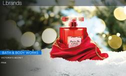 维密母公司 L Brands 假日季可比销售额增长5%,沐浴品牌 Bath&Body Works引领增长