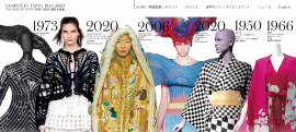 2021秋冬东京时装周将于3月举办,同期推出日本时尚文化回顾大展
